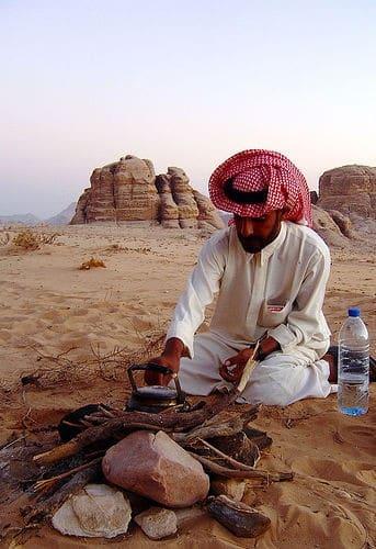 A young bedouin in Wadi Rum, Jordan.