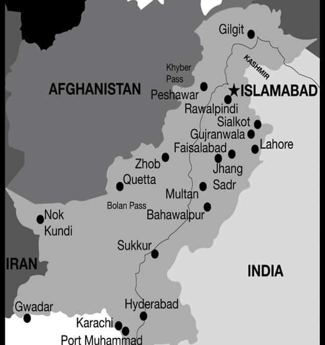 Varley - Map of Pakistan - 2010