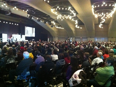 Audience at the Alberta National Event, March 2014