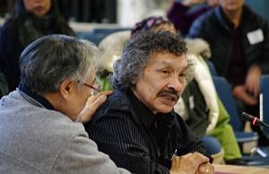 John Umugulik at the TRC Community Hearings, Iqaluit