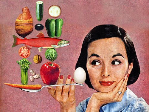 Balanced Diet (Collage by Eugenia Loli, flickr, CC BY-NC 2.0)