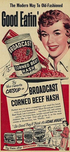 1953 Food Ad (Photo by Classic Film, flickr, CC BY-NC 2.0)