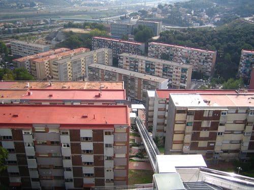 Lower side of Ciutat Meridiana