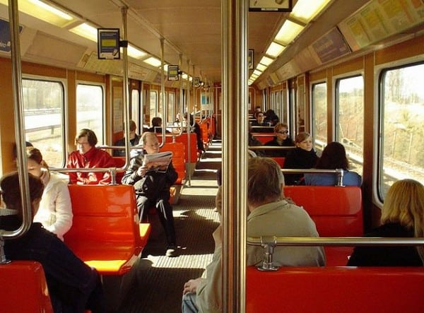 """Helsinki Metro train interior"" by Lussmu (Wikimedia Commons, CC BY 2.0)"