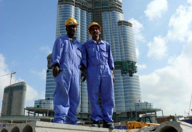 Construction of Burj Dubai, Jan 2008. Photo: Imre Solt via Wikimedia Commons, CC BY-SA 3.0