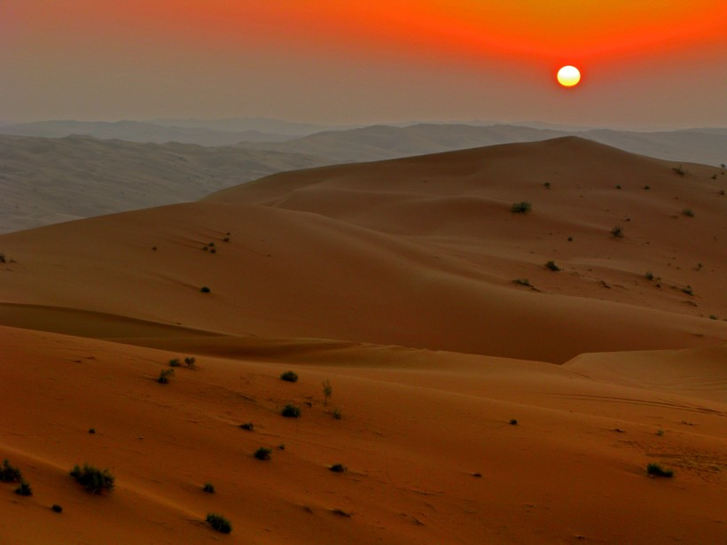 Rub al-Khali desert in Saudi Arabia, 2007. Photo by Javierblas, CC BY-SA 3.0