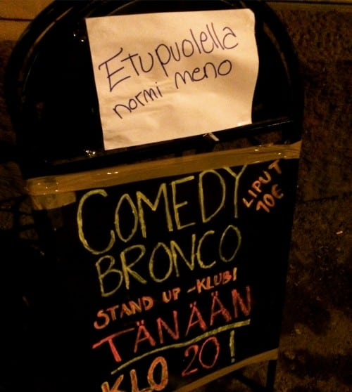 Simple Exhibition Stand Up Comedy : Learning to make people laugh: a semiotic anthropology of stand up