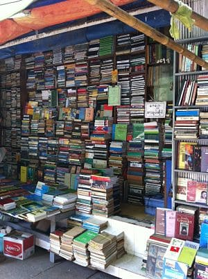 Typical bookstore in downtown Yangon, Myanmar (Photo by Judith Beyer)